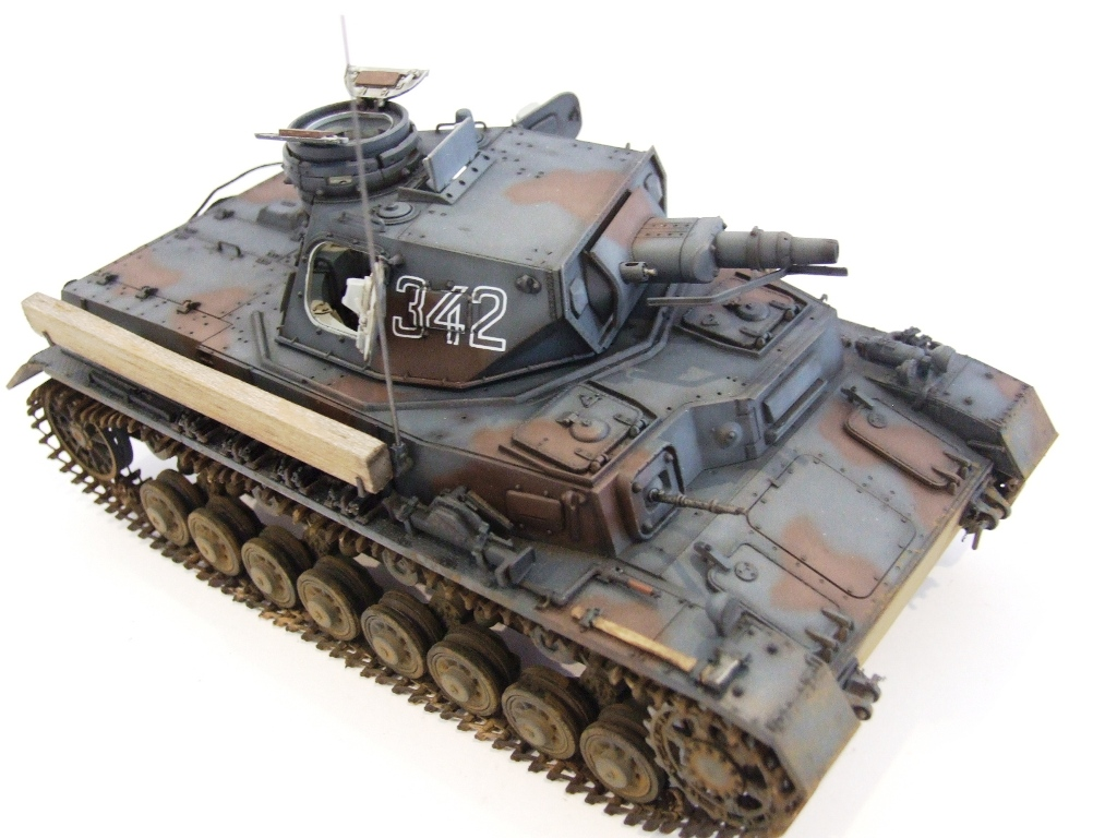 Tristar 1/35 Panzer IV Ausf D Tauch - Ready for Inspection